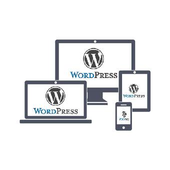 WorPress-hjemmeisde kan vises på både laptop, desktop, tablet og mobil