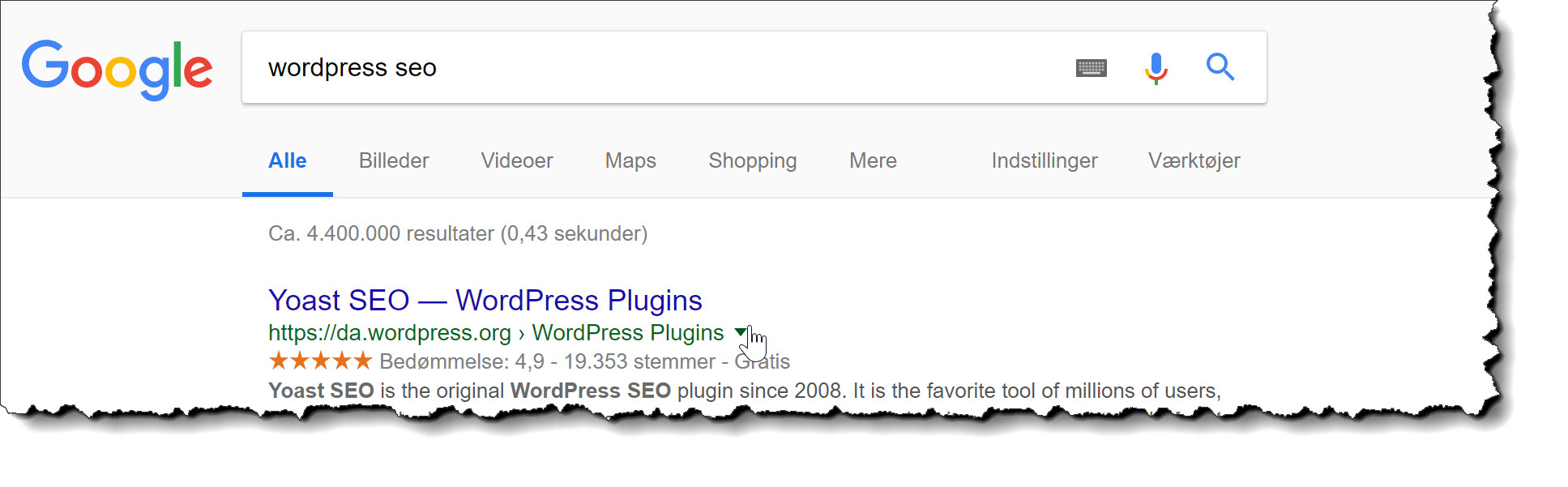 Søgemaskineoptimering - SEO - for WordPress (dansk guide)