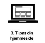 3. Tilpas din hjemmeside i WordPress